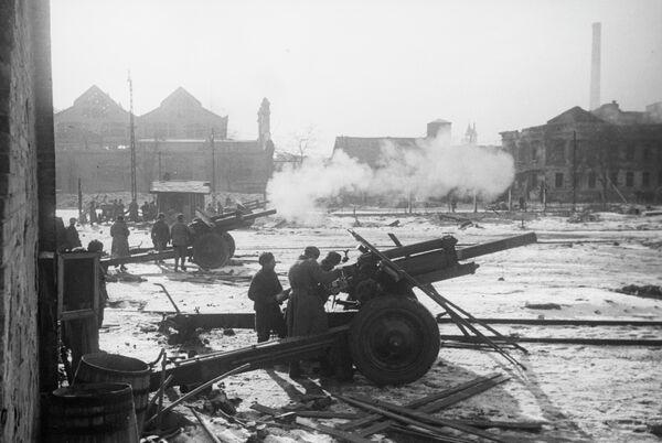 Великая Отечественная война 1941-1945 годов. 2-й Украинский фронт. Бои в Будапеште