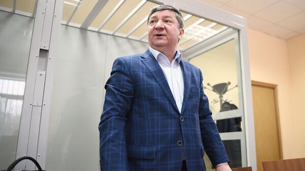 Халил Арсланов на заседании 235-го военного гарнизонном суда