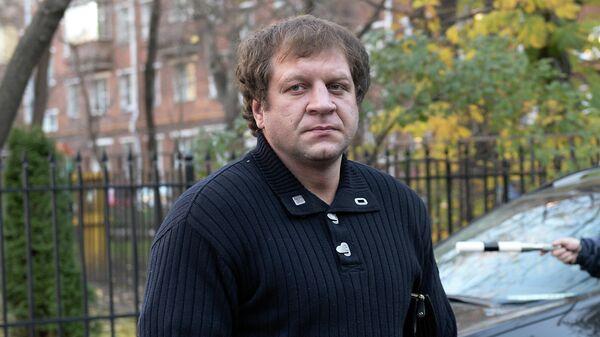 Боец Александр Емельяненко