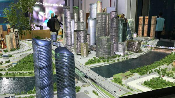 Стенд Москвы на World Urban Forum (WUF) в Абу-Даби (ОАЭ)