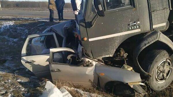 Трое человек погибли в ДТП в Курской области