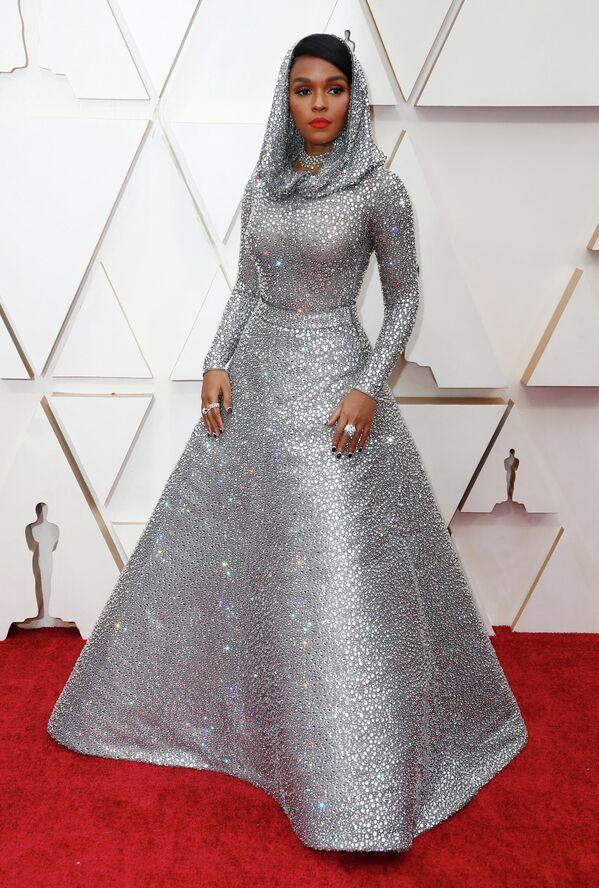Певица Жанель Монэ на церемонии вручения премии Оскар