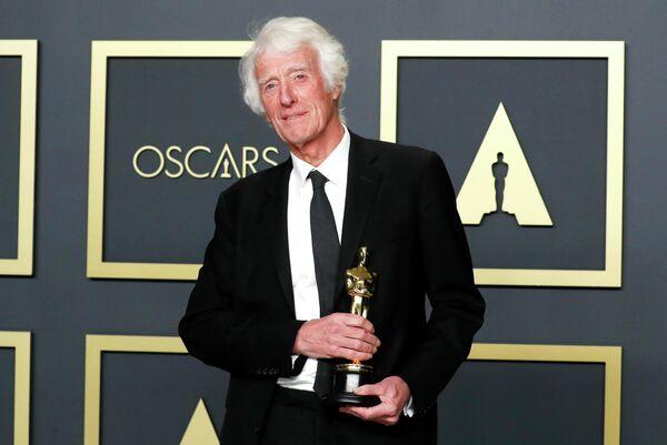 Кинооператор Роджер Дикинс на церемонии вручения премии Оскар
