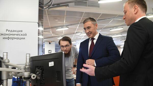 Министр науки и высшего образования РФ Валерий Фальков в МИА Россия сегодня