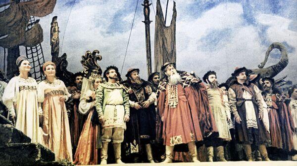 Сцена из оперы Николая Андреевича Римского-Корскакова Садко