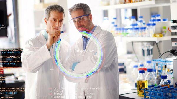 Авторы исследования Бит Кристен и Матиас Кристен в лаборатории Швейцарской высшей технической школа Цюриха