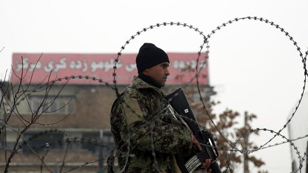 Военнослужащий афганской национальной армии