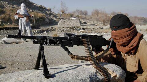 Боевики радикального движения Талибан в Афганистане