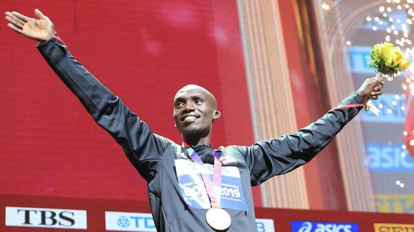 Угандийский легкоатлет Джошуа Чептегеи