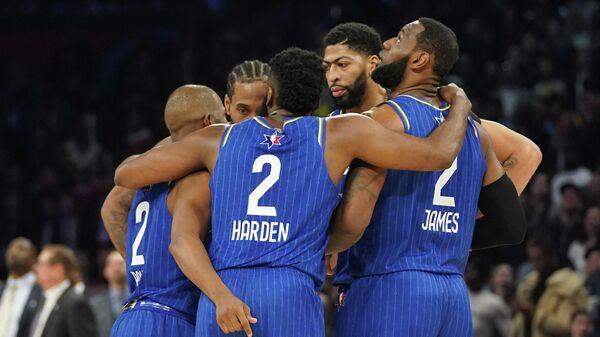 Команда Леброна Джеймса на Матче всех звезд НБА