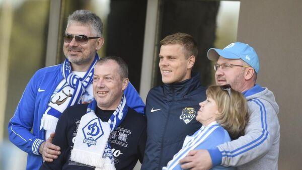 Нападающий футбольного клуба Сочи Александр Кокорин