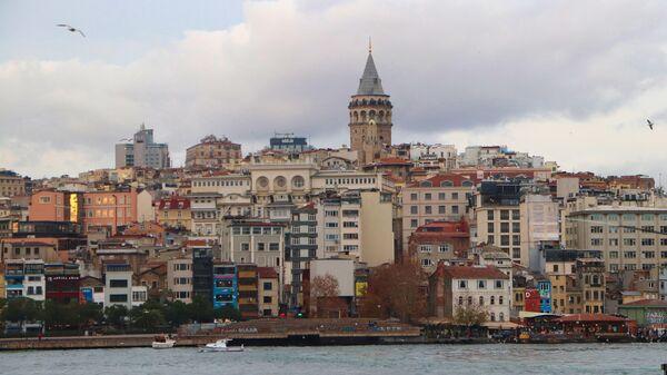 Вид на башню Галата