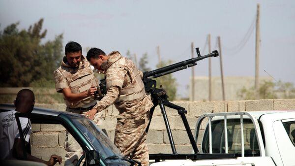 Военнослужащие Ливийской национальной армии