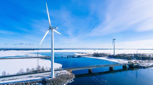 Ветрогенераторы в Финляндии