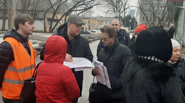 Встреча жителей района Хорошёво-Мнёвники с представителями Мосгаза