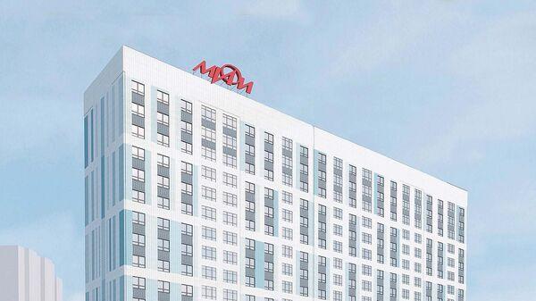 Проект нового общежития МИФИ