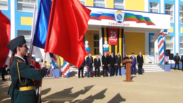 В КЧР открылся новый корпус самой большой школе в регионе