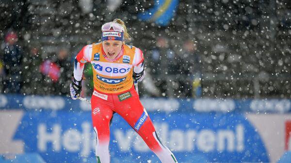 Лыжница Тереза Йохеуг (Норвегия)