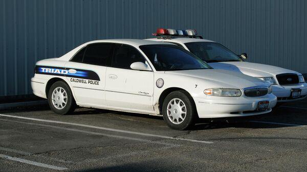 Автомобили полиции в Колдуэлле, штат Айдахо, США