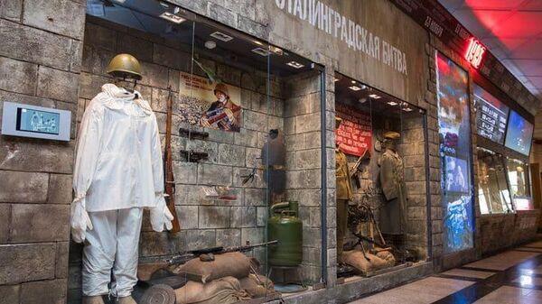 Экспозиция Подвиг Армии в Музее Победы на Поклонной горе
