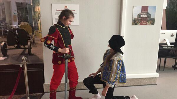 Интерактивная зона Тульский музей оружия