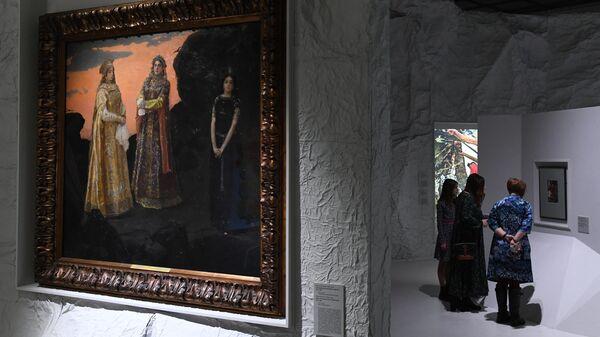 Выставка Русская сказка. От Васнецова до сих пор в Москве