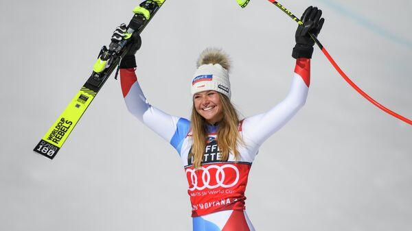 Швейцарская горнолыжница Коринн Сутер