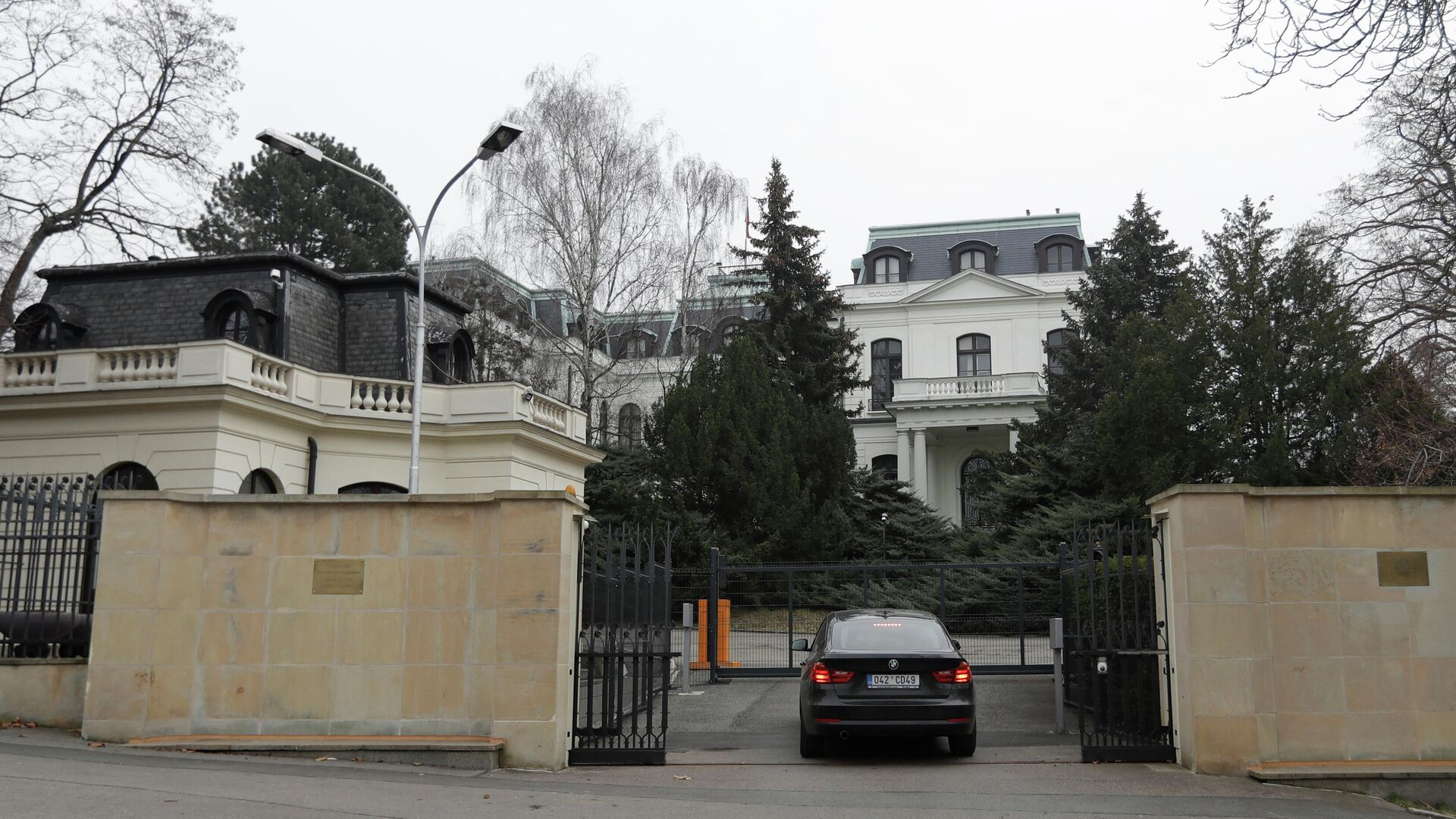 Посольство России в Чехии - РИА Новости, 1920, 25.01.2021
