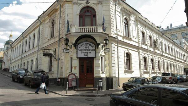 Здание Сандуновских бань