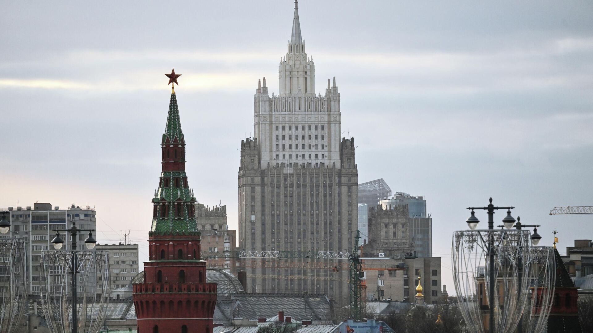 Здание Министерства иностранных дел в Москве - РИА Новости, 1920, 19.10.2020