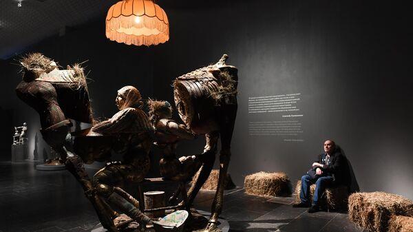 Выставка Скульптор Александр Рукавишников в Новой Третьяковке