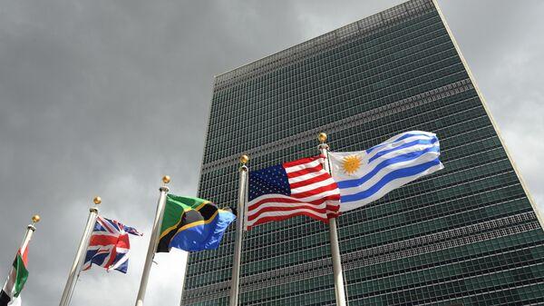 Штаб-квартира Организации Объединенных Наций в Нью-Йорке
