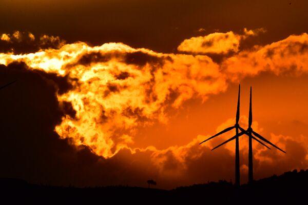 Ветряные электростанции в Ларнаке