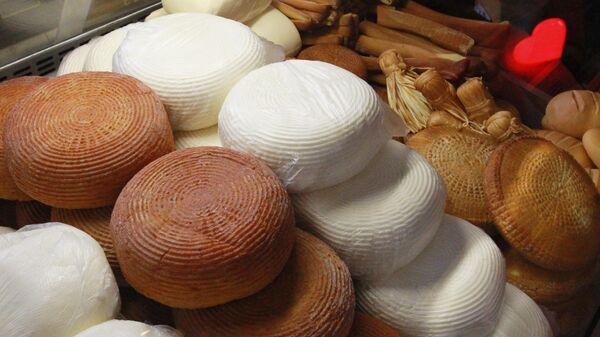 Сыр Адыгейский на сырном фестивале