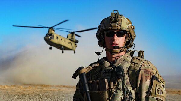 Американские военные на юго-востоке Афганистана