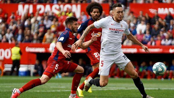 Матч чемпионата Испании по футболу Севилья - Осасуна