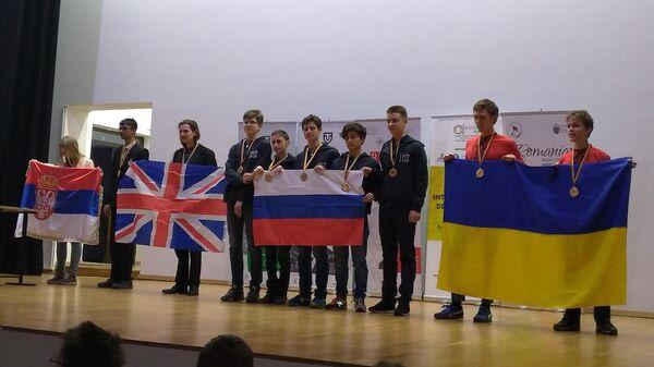 Российская сборная стала первой в командном зачете на Международной математической олимпиаде Romanian Masters, Румыния