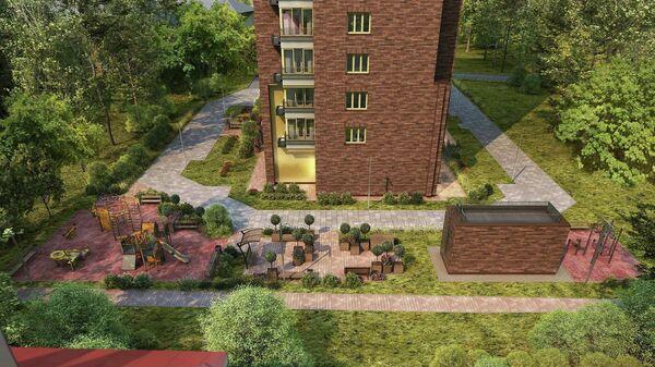 Проект дома по программе реновации на Шепелюгинской улице в московском районе Лефортово