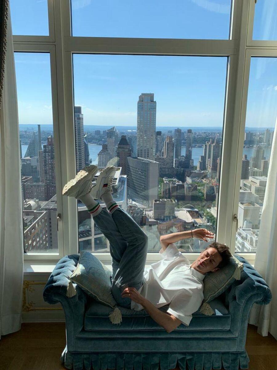 Марк Тишман в Нью-Йорке