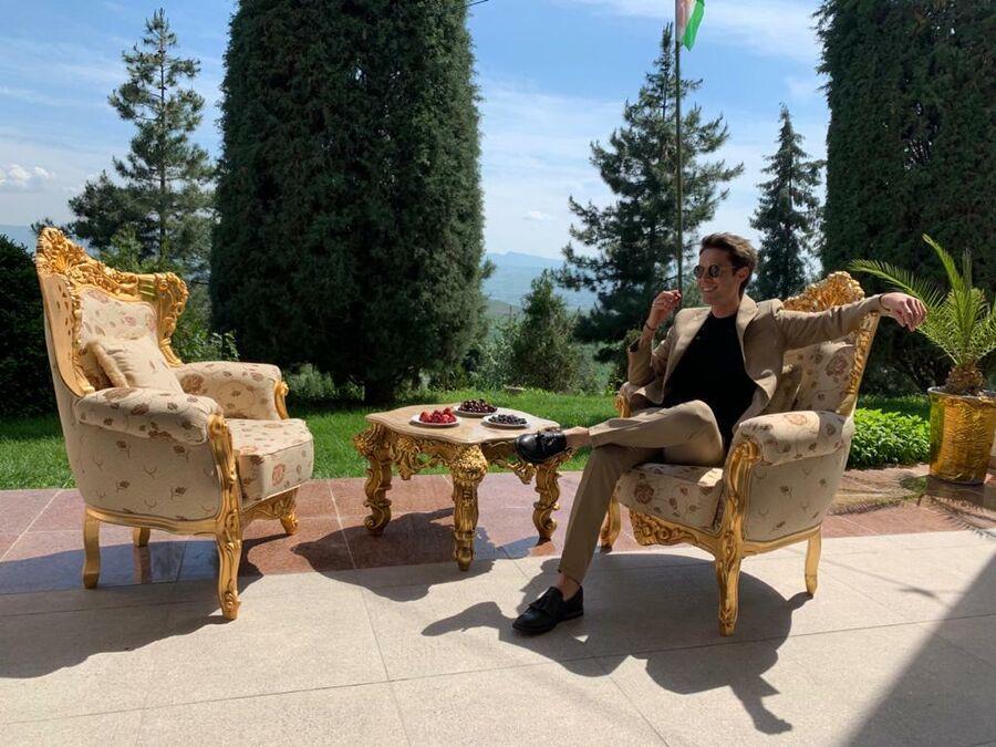 Марк Тишман в Душанбе