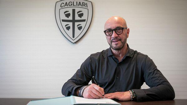 Новый главный тренер Кальяри Вальтер Дзенга