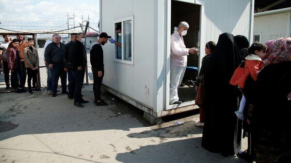 Санитарно-контрольный пункт в Эрбиле, Ирак