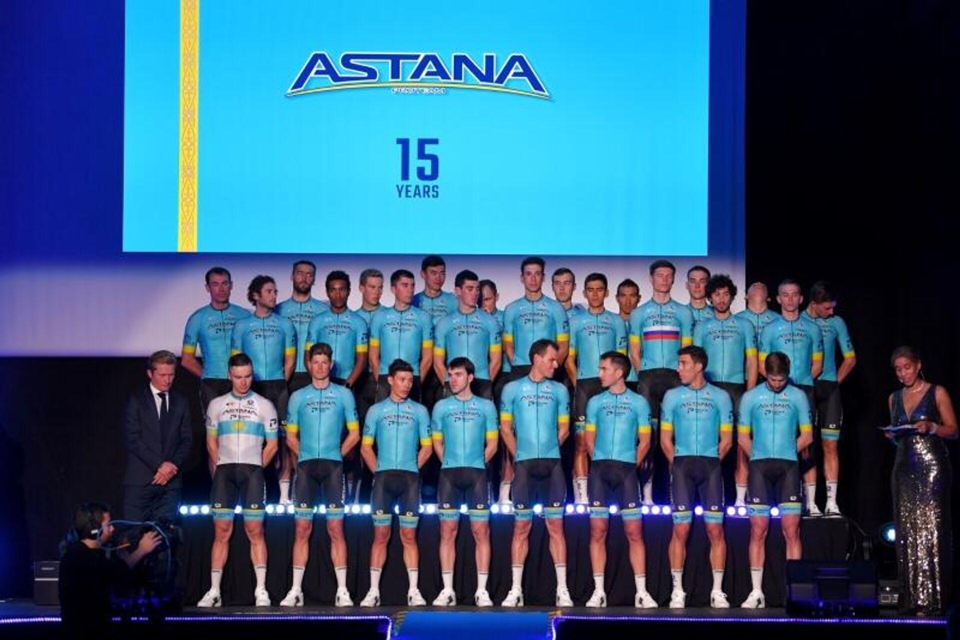 Велокоманда Астана - РИА Новости, 1920, 16.04.2021
