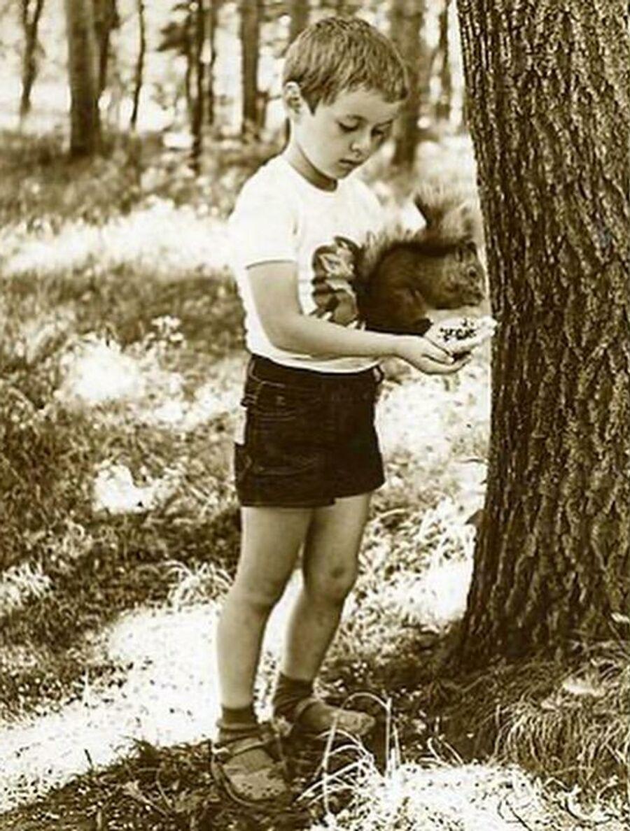 Марк Тишман в Железноводске, в детстве