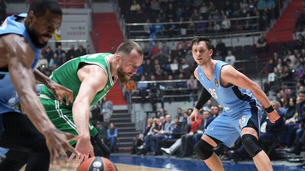 Баскетбол. Евролига. Матч Зенит – Жальгирис