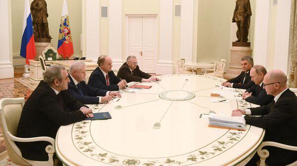 """Картинки по запросу """"встреча лидеров думских фракций с президентом картинки"""""""