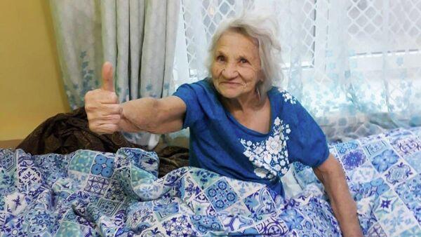 Постоялица частного пансионата для пожилых А ну-ка бабушки