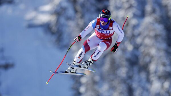 Швейцарский горнолыжник Беат Фойц