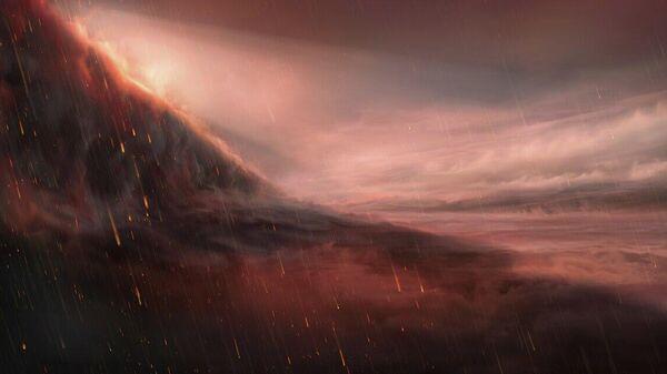 Ученые обнаружили планету, на которой идет железный дождь