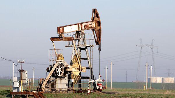 Нефтяной станок-качалка в Краснодарском крае